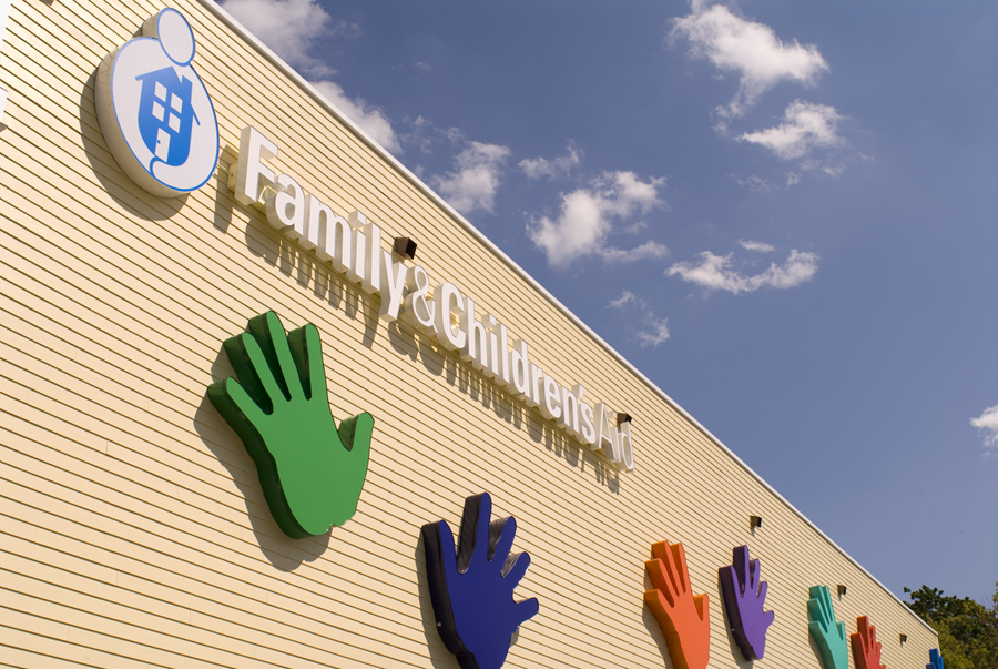Family & Children's Aid, Danbury, CT The Building with the Hands on It!