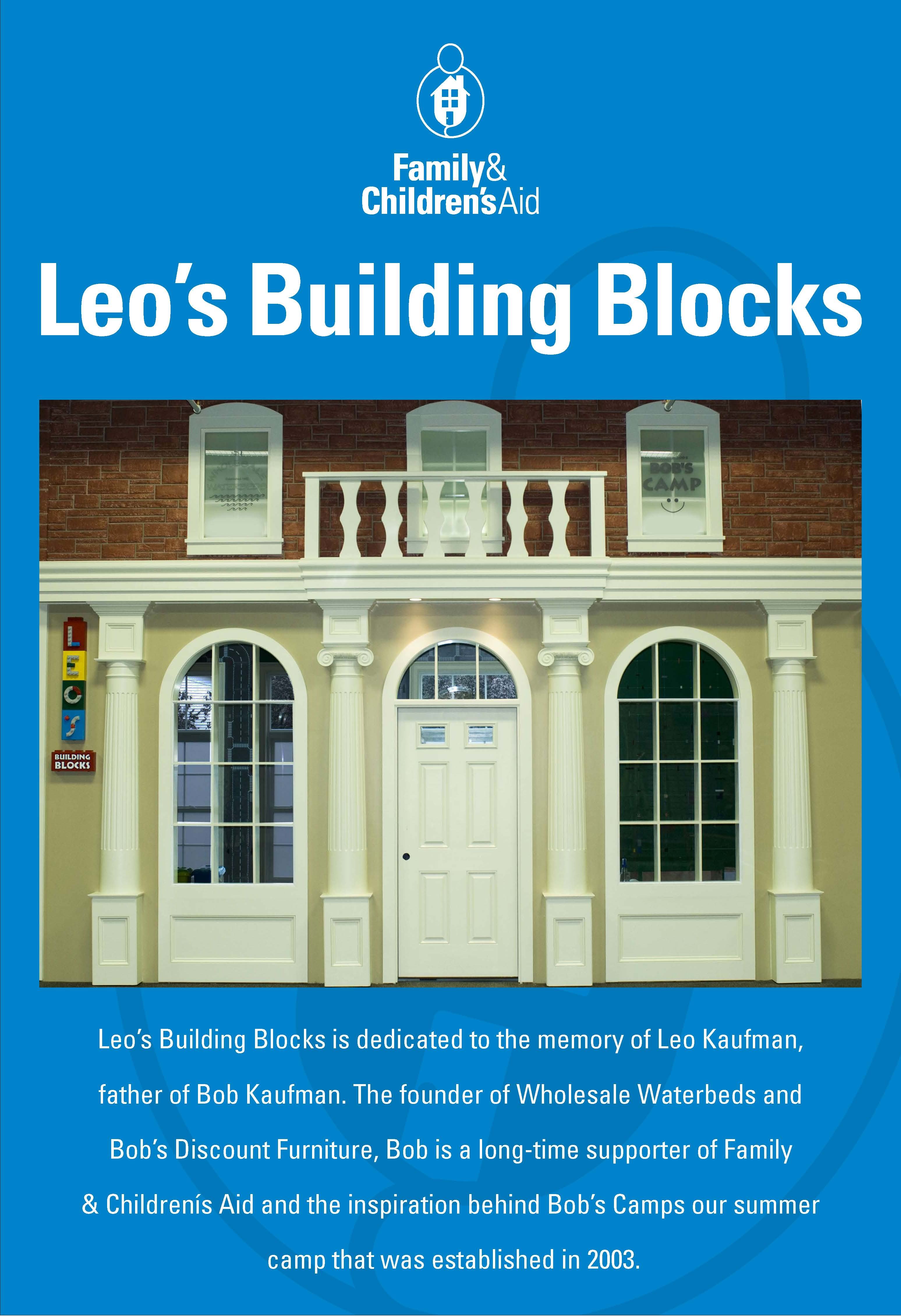 Leo's Building Blocks in Playmaker Village