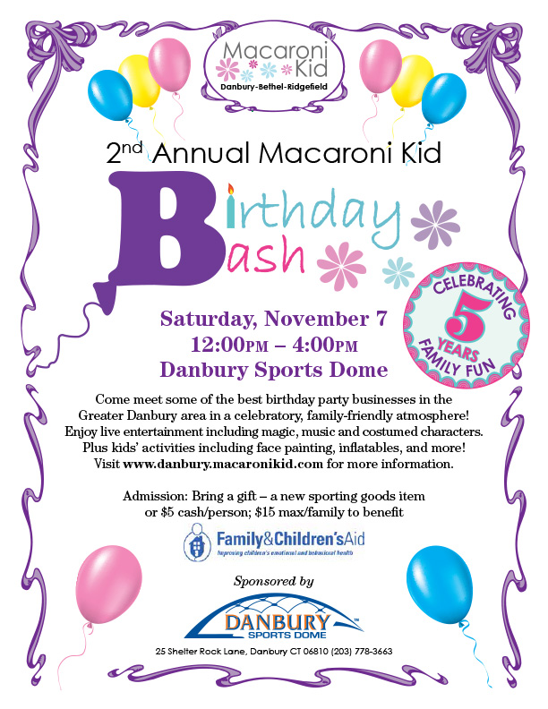 Macaroni Kid 2nd Annual Birthday Bash!