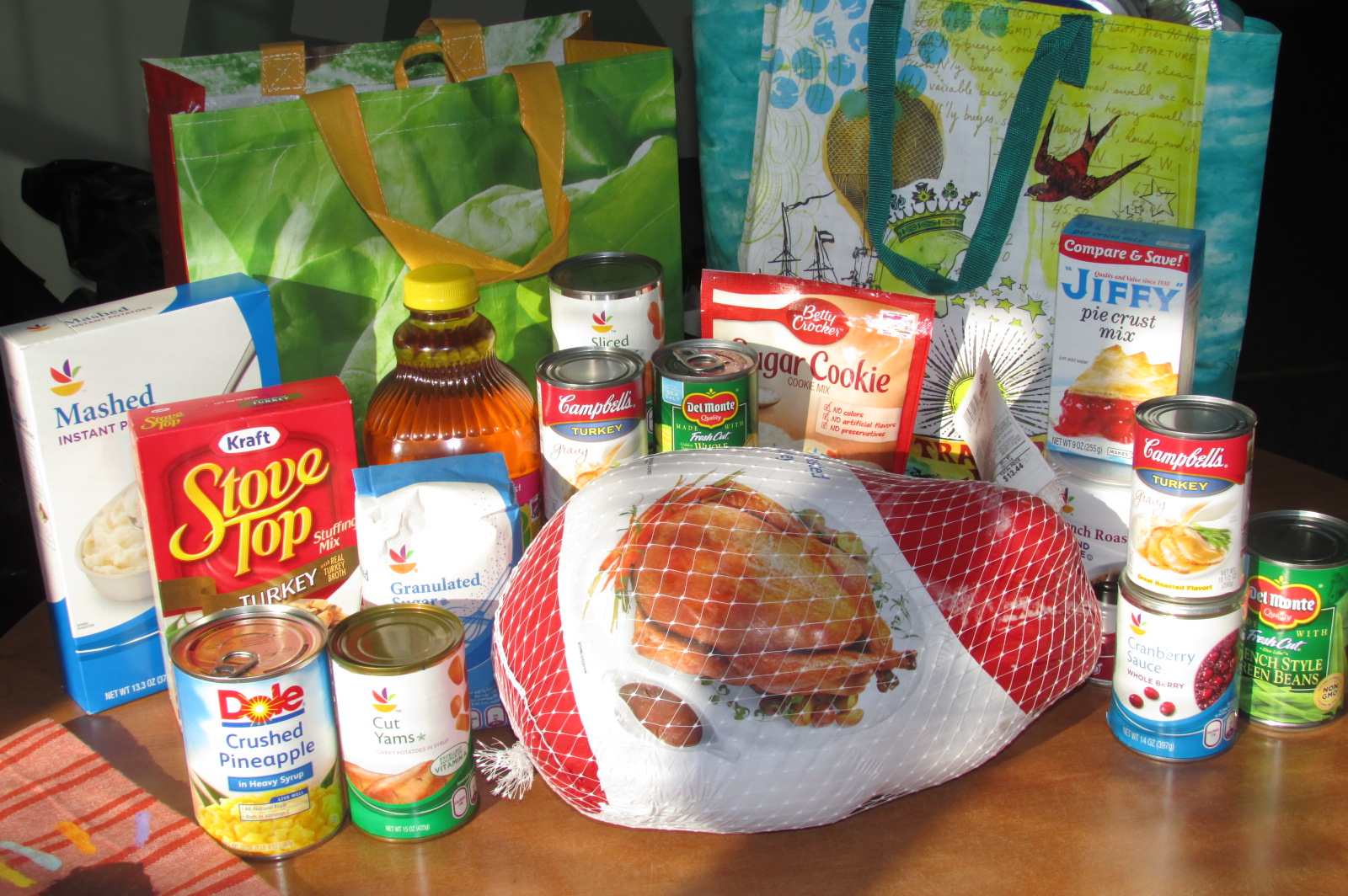 Ridgefield Girl Scout Thanksgiving Baskets
