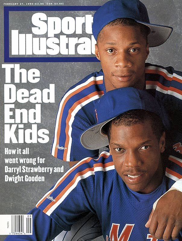 Sport's Illustrated Cover Featuring Darryl Strawberry